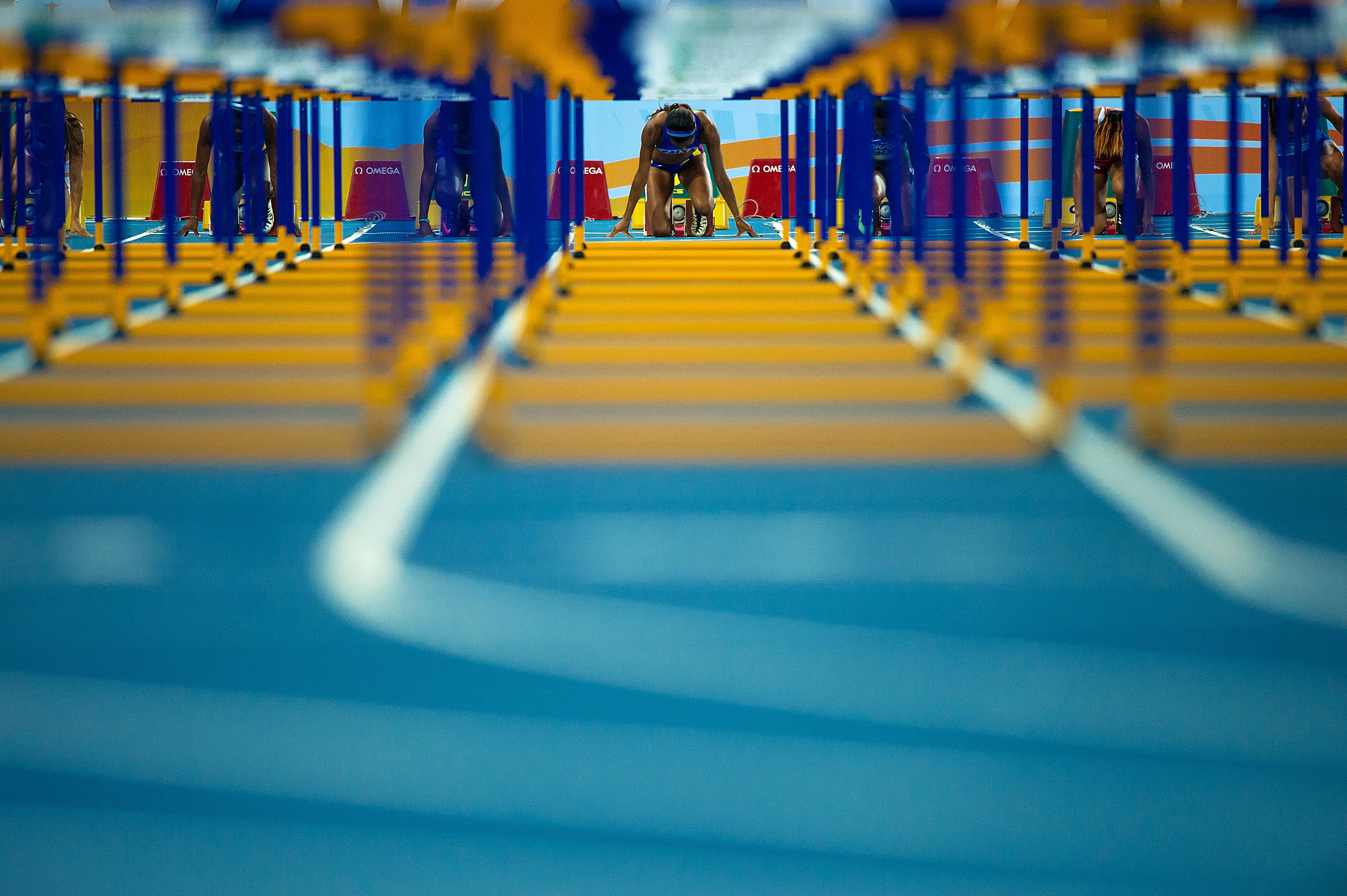 16/05/2016. Evento-Teste Atletismo Olímpico.