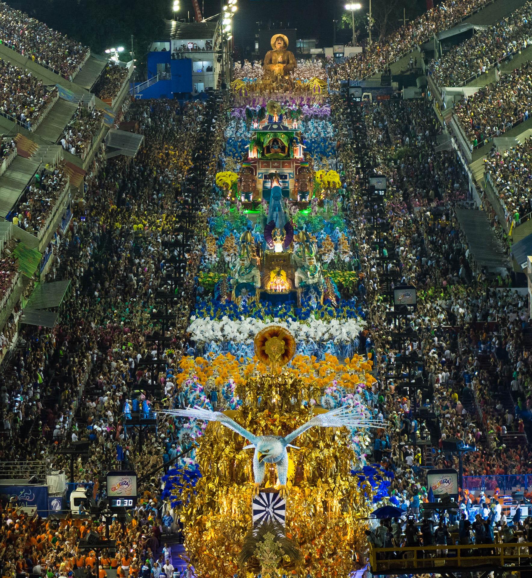 27/02/2017. Carnaval 2017. Projeto: Arcos da Apoteose. Grupo Esp