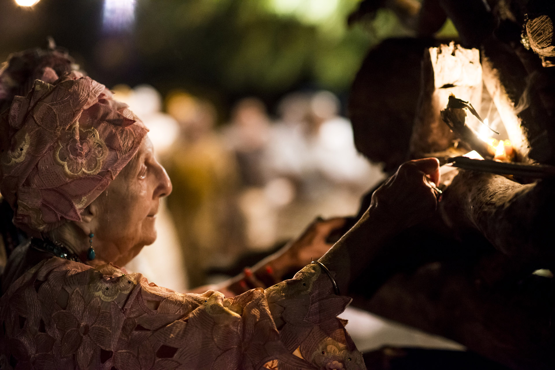 Festa de Santo.Fogueira de Xangô. YA GISELLE.29.06.2014.