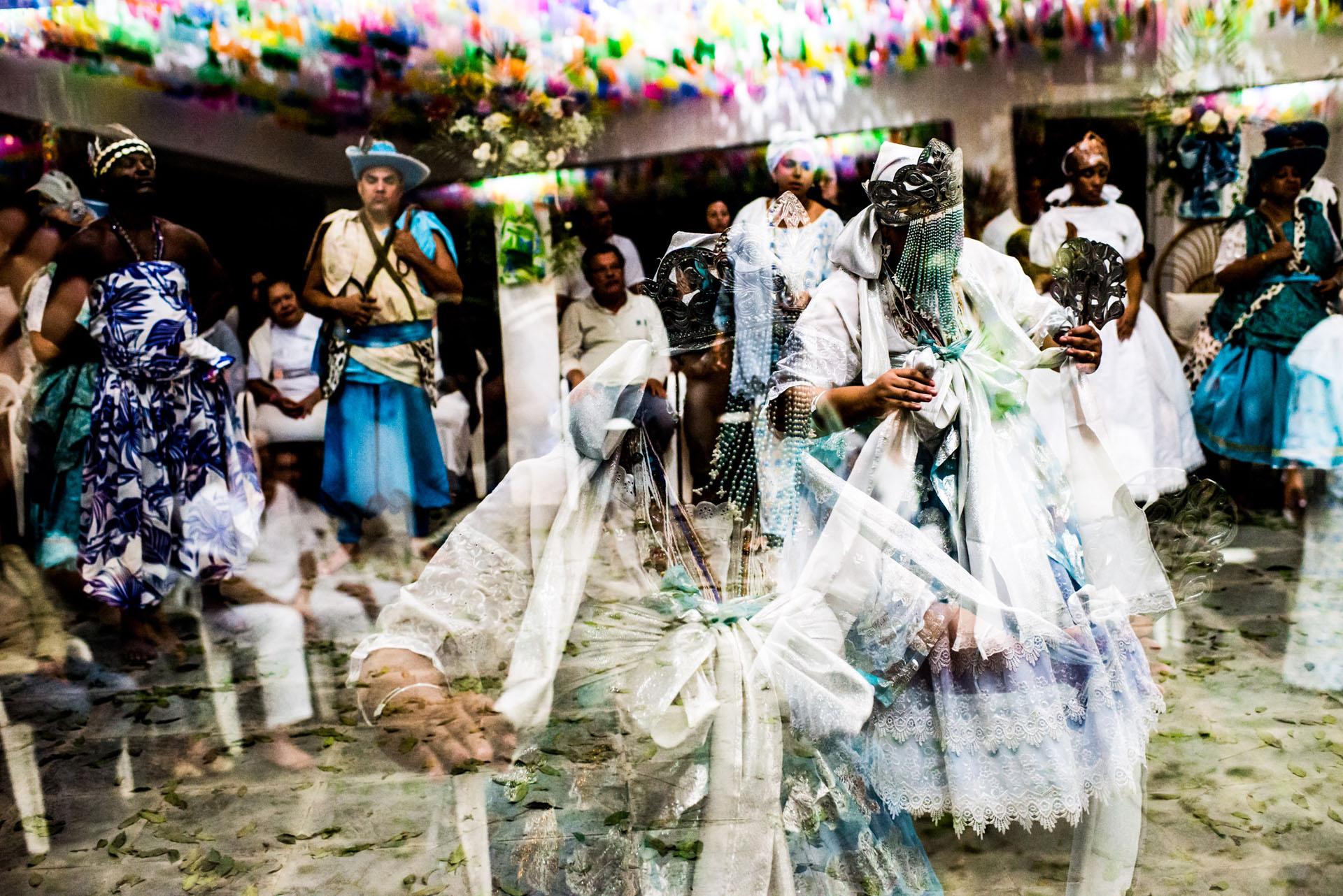 Festa de Santo. Terreiro YA GISELLE. Rio de Janeiro. Caxias. 18/05/2013. Rio de Janeiro. BRAZIL.