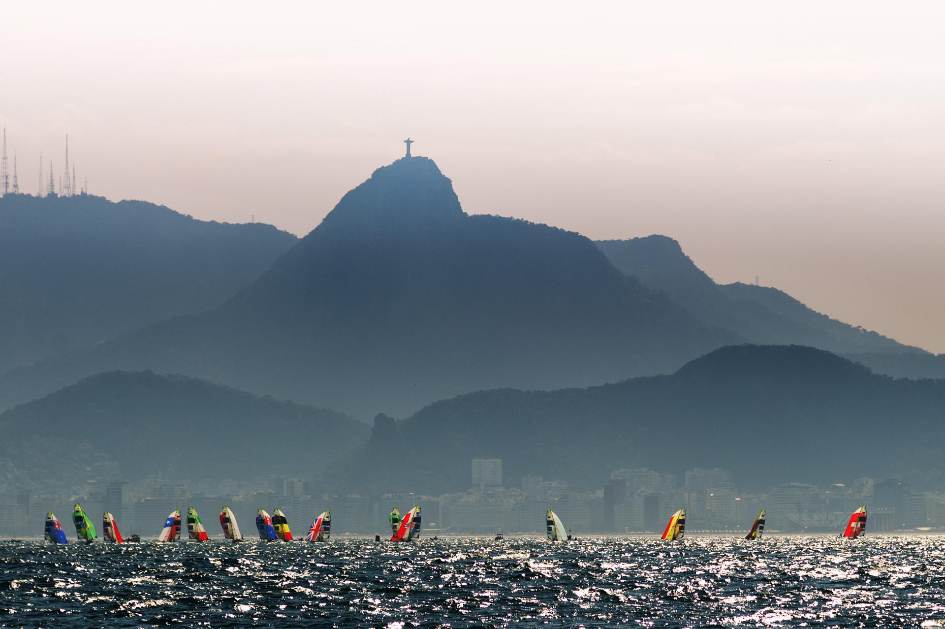 15/08/2016. Vela - Seiling. Gates Time Rio 2016. Class: 4949 FX.