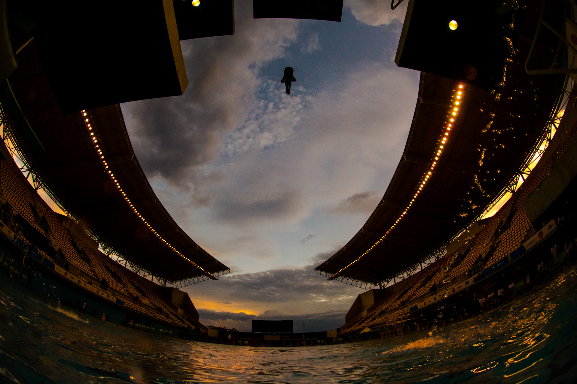 17/02/2016. Test-Event. Saltos Ornamentáis. Mundial. Diving Wor