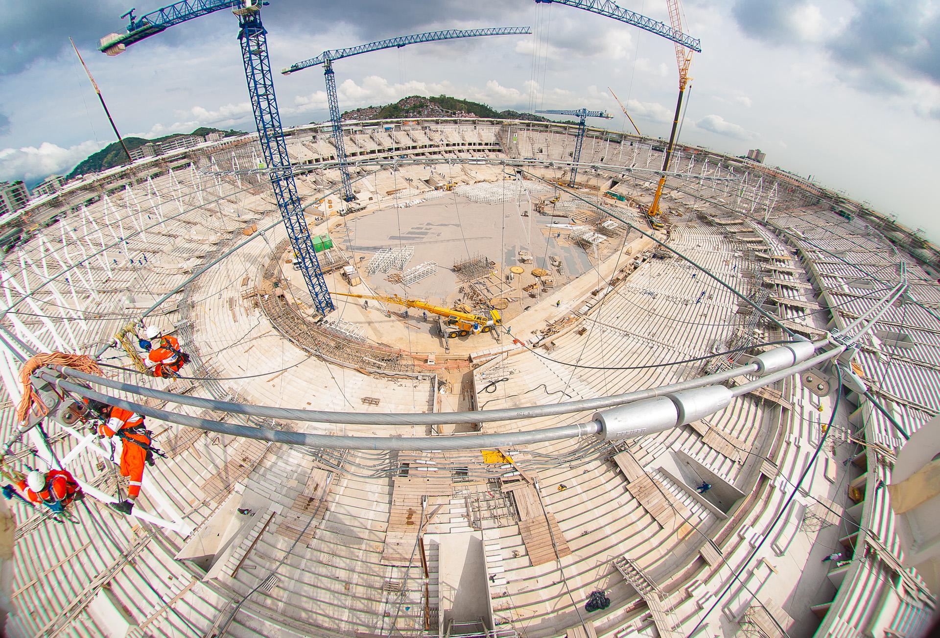 Rio2016 Arquitetura e Obras Olímpicas na cidade do Rio de Janeiro.