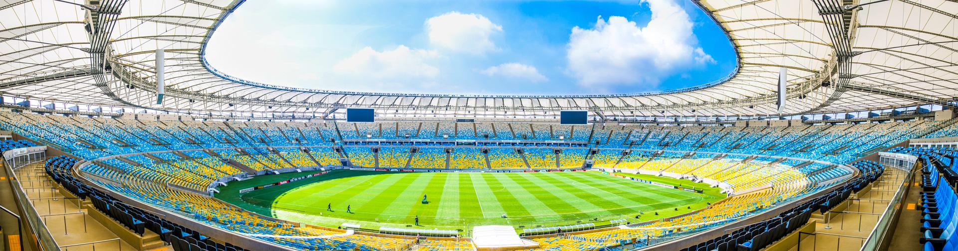 Estádio do Maracanã. Panorâmica. Rio de Janeiro, 02/04/2014.