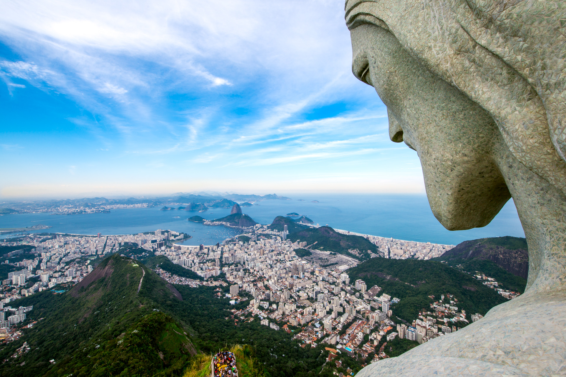 Cristo Redentor Ensaio. Rio de Janeiro, 18 de Julho 2014.