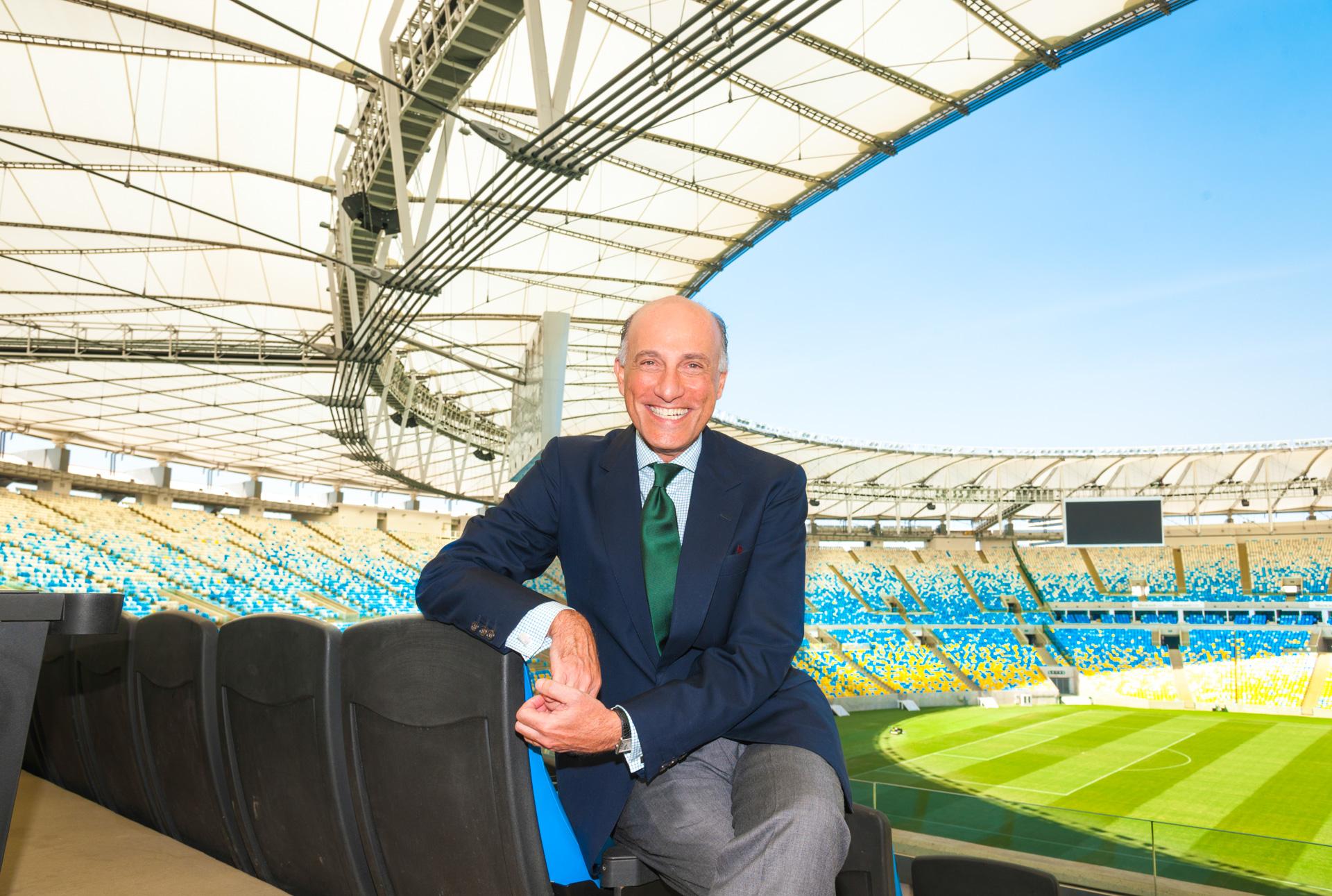 Sidney LEVY. Diretor Geral do Comitê Organizador da Olimpíada