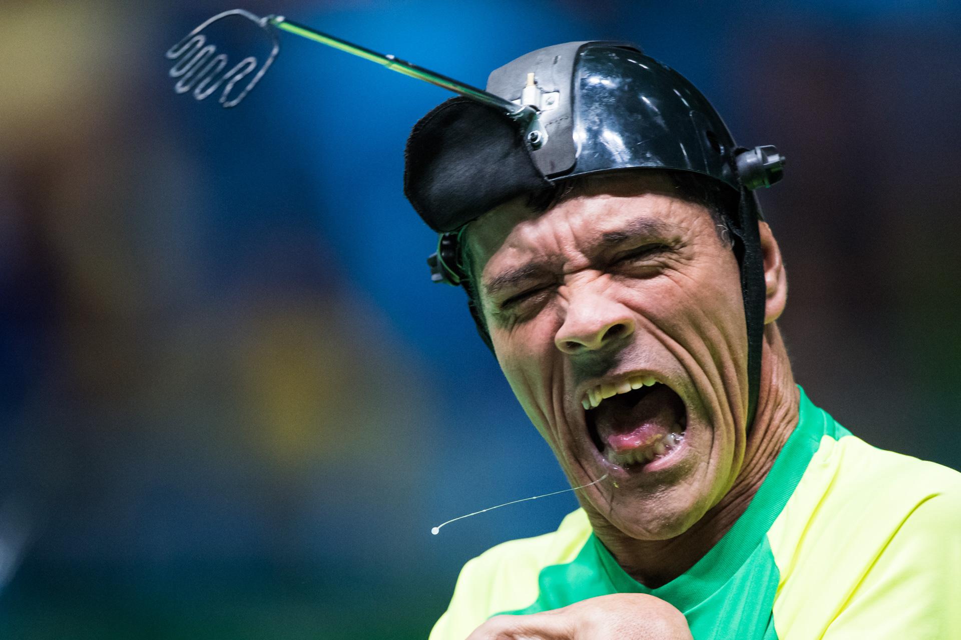 12/09/2016. Games Time. Paralímpico. Bocha.Boccia. Brasil X Kor