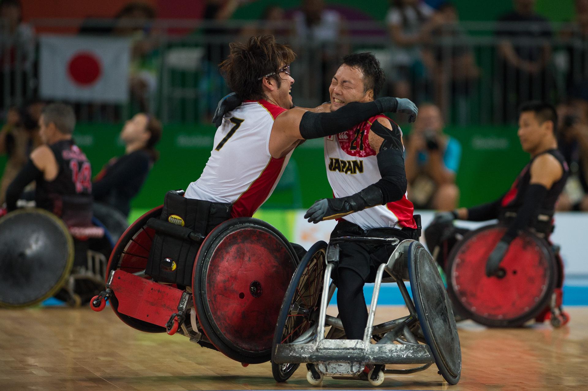18/09/2016. GT.Paralímpico. Rugby em Cadeira de Rodas.JPNxCAN.B