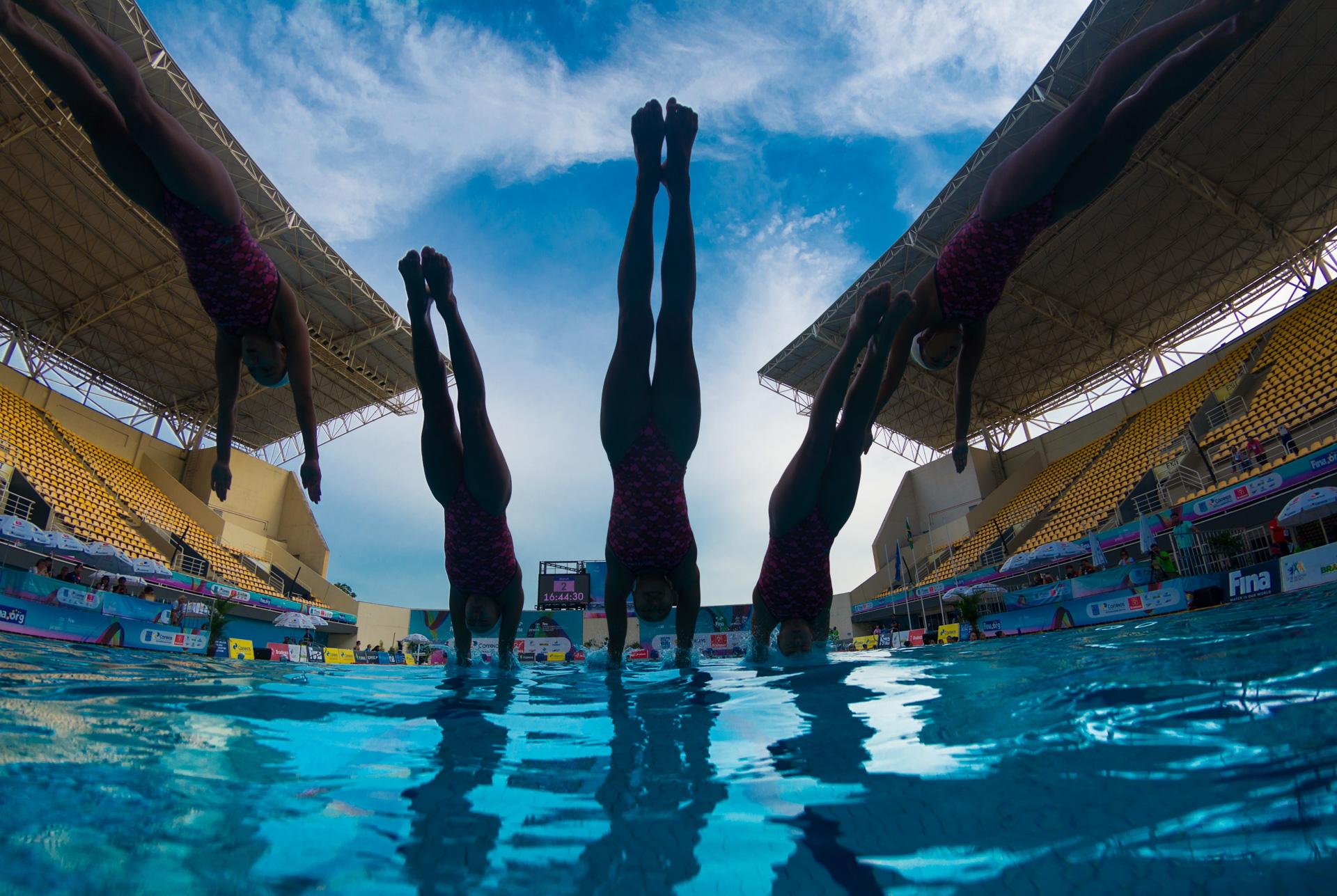 02/03/2016. Test-Event. Nado Sincronizado. Synchronised Swimming