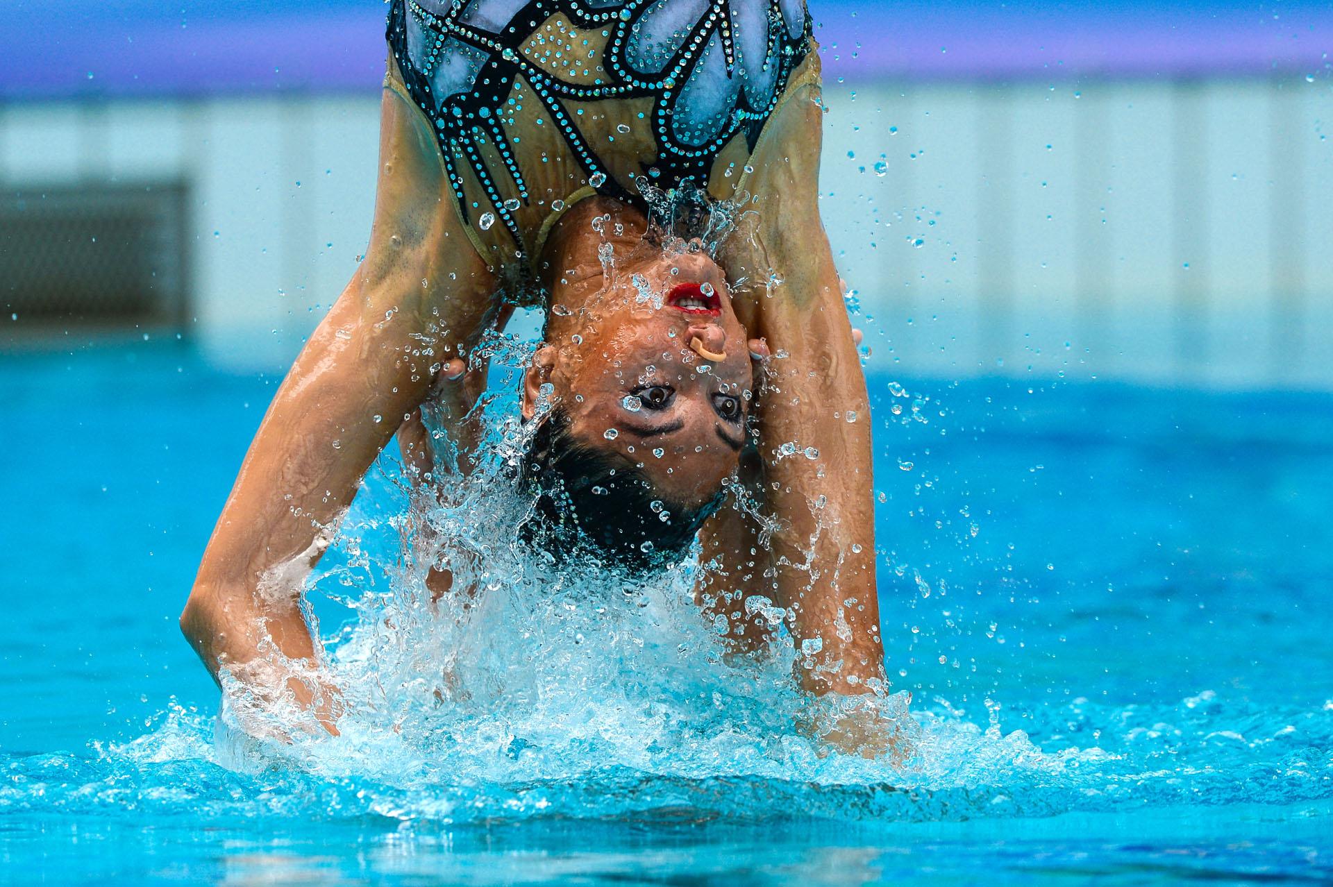 03/03/2016. Test-Event. Nado Sincronizado. Synchronised Swimming
