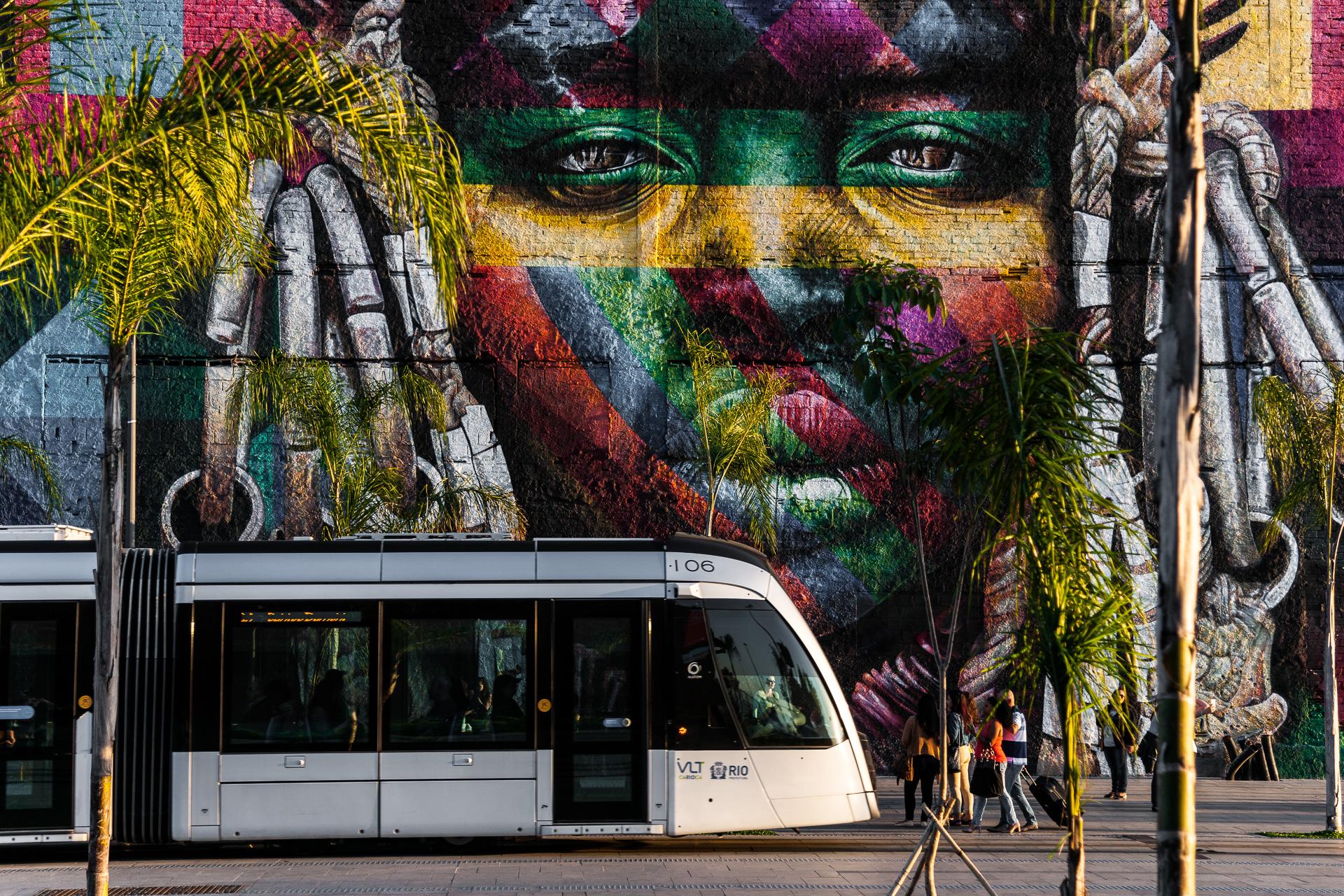 20/07/2017_VLT.Rio Operação Estação: Paradas dos Navios. Rio